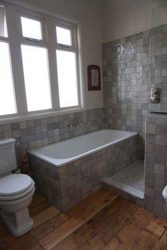 Keltainen talo rannalla Corner Bathtub, Bathroom, Inspiration, Ideas, Washroom, Biblical Inspiration, Full Bath, Bath, Thoughts