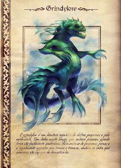 Grindylow por Juliane Prenhacca - Desafio 2Minds (Harry Potter - Trato de criaturas mágicas)