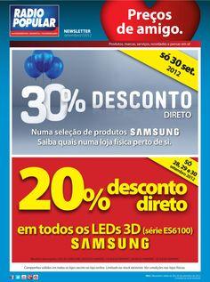 Newsletter - Desconto direto em produtos Samsung!    http://www.radiopopular.pt/newsletter/2012/92/