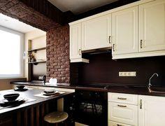 Кухня, объединенная с лоджией или балконом