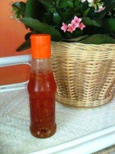 Hobbylka: Domácí sladká chilli omáčka Home Canning, Sweet Chilli, Pesto Sauce, Hot Sauce Bottles, Preserves, Kimchi, Chili, Bbq, Good Food