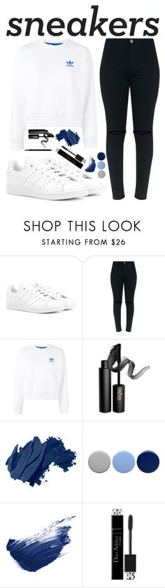 """Untitled #32"" by citcat03 ❤ liked on Polyvore featuring adidas Originals, adidas, INIKA, Bobbi Brown Cosmetics, Burberry, By Terry, Christian Dior and Gucci"