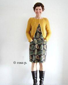 """240 vind-ik-leuks, 20 reacties - rosa p. :: blog und shop (@rosap.de) op Instagram: 'Heute gemeinsam unterwegs :: Kleid LIVA und die """"Jacke mit Zopfmuster"""". Und auf meinem Blog noch…'"""
