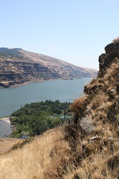 Oregon Columbia Gorge looking at eastern Washington