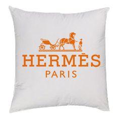 Orange Hermes Pillow
