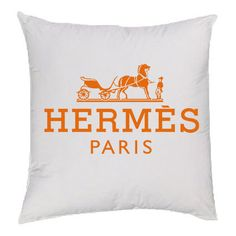 Orange Hermes Pillow