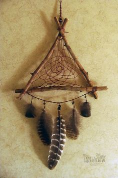 Reserved for Olivia Woodland Dream Catcher by FrolicInTheForest