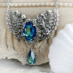 THE OCEAN'S SECRET Victorian fantasy by TheVictorianGarden on Etsy, $68.00