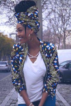 Follow me @Chloe Lanez #AfricanFashion