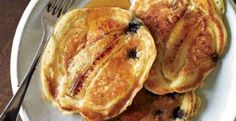 Blueberry-Banana Pancakes | KitchenDaily.com