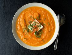 This wonderful soup comes from theSmitten Kitchen. It's the simplest of ingredients with such great flavor. Yes, there are a lot of carrots involved but carrots are really on the cheap. I can pick up a 5 lb bag of organic carrots for under $5 making this a very inexpensive soup to prepare (double the...Read More »