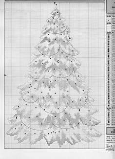 Embroidery Stitches Design Let It Snow Freestanding Christmas Tree (Pg 3 of Cross Stitch Christmas Ornaments, Xmas Cross Stitch, Christmas Embroidery, Christmas Cross, Cross Stitching, Embroidery Hearts, Cross Stitch Embroidery, Embroidery Ideas, Cross Stitch Designs