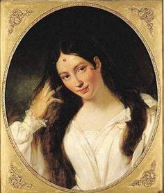 Maria Malibran (1808-1836) by François Bouchot (1800–1842). #Louvre, Paris #anabolenaaa #museumweek #art #apinting
