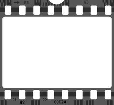 Free SVG file Film Strip Clip Art