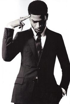 Kid Cudi! Outfit and style of shoot is bad ass