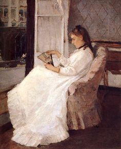 Berthe Morisot Artist-s sister beside the window (BoFransson, via Flickr)