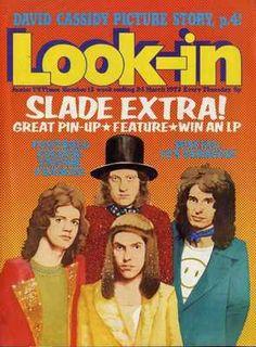 Slade Scrapbook - Look In Magazine - Slade Scrapbook