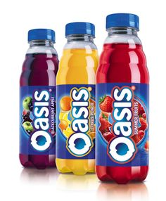 This Orange and Raspberry Tropicana juice is perfect for ... Oasis Juice Logo