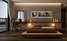 Im Schlafzimmer klassische Nachttischlampen verwenden
