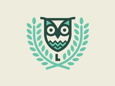 Creative Illustration, -, Flat, Colour, and Learnwise image ideas & inspiration on Designspiration Logo Design Examples, Graphic Design Branding, Gfx Design, Design Art, Creative Illustration, Graphic Design Illustration, Buho Logo, Zentangle, Owl Logo