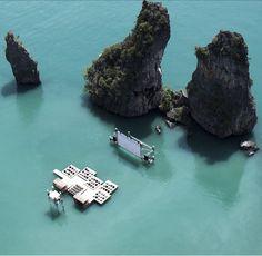 Ciné-Parc, waterworld style !