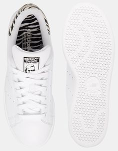 adidas originals stan smith w animal print sneakers