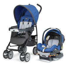 We're giving away a Chicco product a day for 100 days! Today's prize is a Chicco Neuvo Travel System in Glacial. Head to pnmag.com/chicco to put your name in the hat.