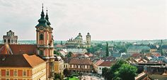 Historic town of Eger, Hungary. Click on the image to learn more about Eger and its tourist attractions.