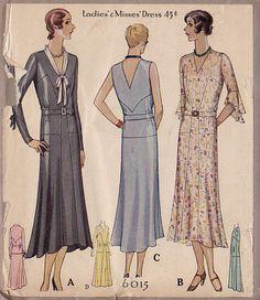 bonne chance: 1920's Patterns