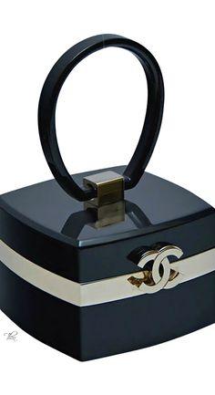 Chanel ● Rare Lucite Mini Handbag