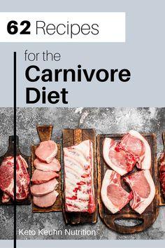 Caveman Diet Recipes, Keto Recipes, Cooking Recipes, Healthy Recipes, Dessert Recipes, Healthy Foods, Zero Carb Diet, Low Carb Keto, Meat Diet