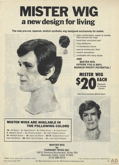Mister Wig {1970} | ADSAUSAGE