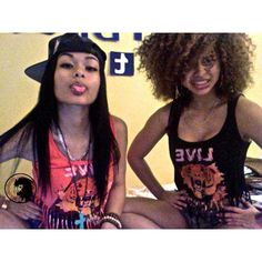 India & Crystal Westbrooks Silly Faces ❤ liked on Polyvore