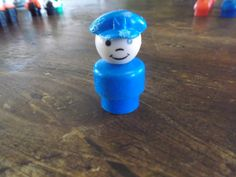 Fisher Price Little People Mailman/Pilot by RocksTreasures on Etsy, $2.99