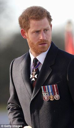 Prince Harry returned to Sandhurst military academy to hand out awards to cadet officers...