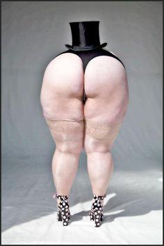 naked bbws bent over