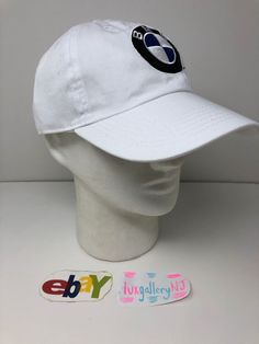 b2854665 New Club Foreign BMW Logo Adjustable Dad Hat White cap power m3 m4 m5 m6 #