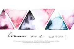 Watercolor Textures W&C-3 @creativework247