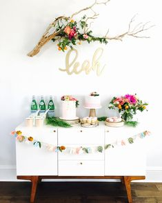 """69 Likes, 13 Comments - THE PARTY SHOP (@the.party.shop) on Instagram: """"* * * Floral garden themed party for my daughter's 1st Birthday * 先月の娘の1歳のバースデーパーティーは春らしく…"""""""