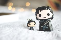 Jon Snow: Funko Pop e Pocket Pop (chaveiro)