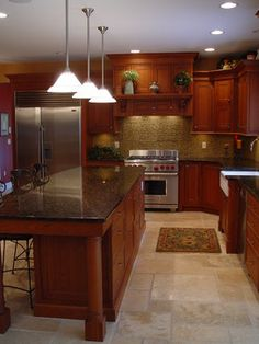 Stone Tile Floor Design Ideas, Pictures, Remodel, and Decor - page 2