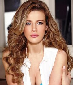 Highlights For Dark Brown Hair And Blue Eyes : Hairstyles Trends – Hairstyles 2014