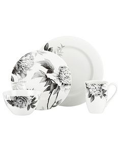 Moonlit Garden 4 Piece Place Setting