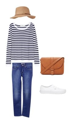 """""""Summer day - Hamptons style"""" by beefashionable on Polyvore featuring Mode, Acne Studios, Vans, Forever 21, Black Rivet, women's clothing, women, female, woman und misses"""