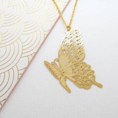 Are you interested in our butterfly necklace? With our gold geometric butterfly necklace jewellery you need look no further.