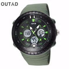 >> Click to Buy << OUTAD 1Pc Men Sport Watch Wish Double LED Digital Display Watch Mountain Waterproof Electronic Casual Military Relogio Masculino #Affiliate