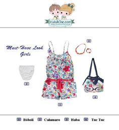 #MustHave #look for #girls. Check at www.kidsandchic.com/girl  #girlsclothing #girlsfashion #kidsfashion #trendychildren #kidsclothing #shoppingbarcelona #haba #calamaro #tuctuc #boboli