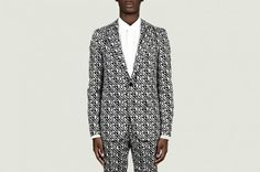 8 Suits To Get Festive: A.Sauvage – All Over Print Suit