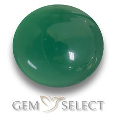 GemSelect features this natural Agate from India. This Green Agate weighs 2ct and measures 8.2 x 7.4mm in size. More Oval Cabochon Agate is available on gemselect.com #birthstones #healing #jewelrystone #loosegemstones #buygems #gemstonelover #naturalgemstone #coloredgemstones #gemstones #gem #gems #gemselect #sale #shopping #gemshopping #naturalagate #agate #greenagate #ovalgem #ovalgems #greengem #green