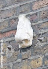 HIGH on the corner of Meard Street, Soho, is a large sculpted nose. It is claimed as one of seven noses that once decorated the area. Legend has it that if you find them, you are assured of eternal…